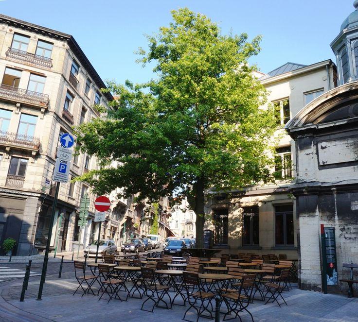L'arrière Pays  Rue des Minimes, 60 - 1000 Bruxelles +32 (0)2 514 77 07. www.arriere-pays.be. Cuisine : française. € / L