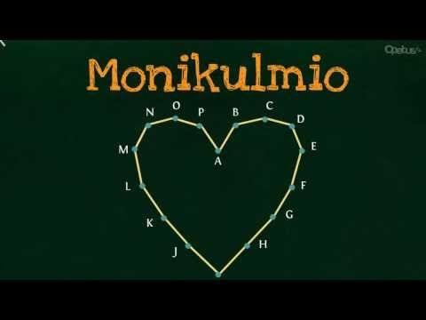 Monikulmiot | Opetus.tv (kolme videota 2:59-4:50).