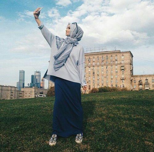 Image de hijab, muslim, and fashion