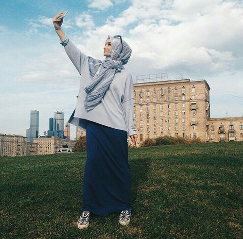 Image de hijab, muslim, and fashion