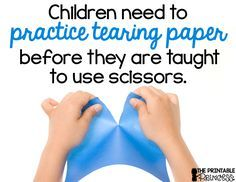 Great activities using stickers and scissors to promote fine motor skills and cutting skills