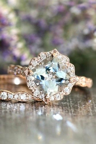 24 vintage engagement rings with stunning details - Wedding Ring Insurance