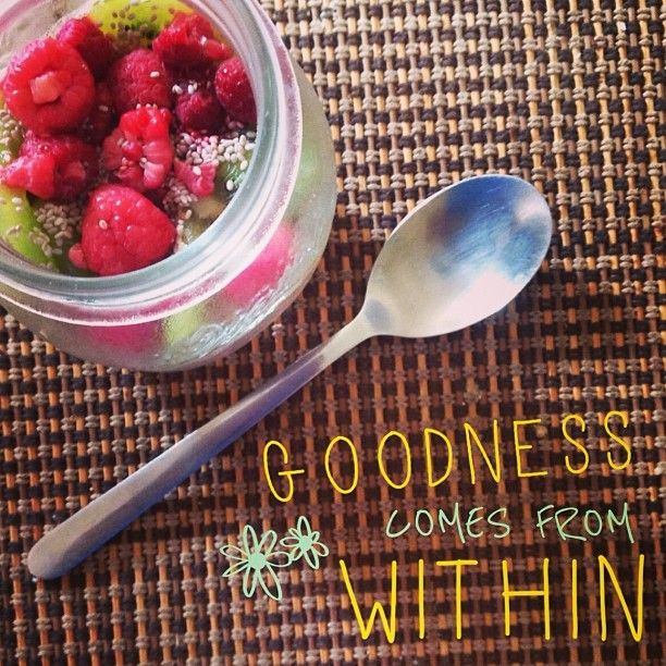 Goodness comes from within xx Follow us on Instagram @Lorna Jane