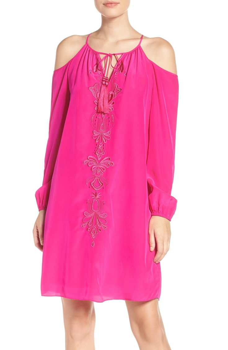 Lilly Pulitzer® Fulton Silk Tunic Dress available at #Nordstrom