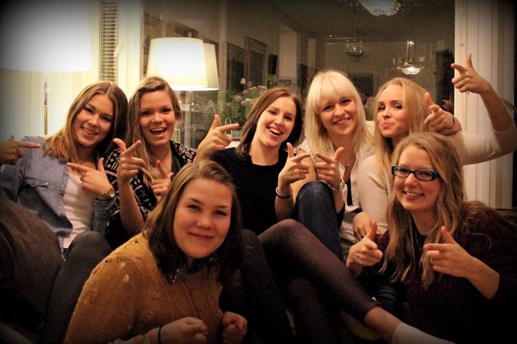 Good time, tyttöjen ilta ja hamsutoverit yhdessä :)