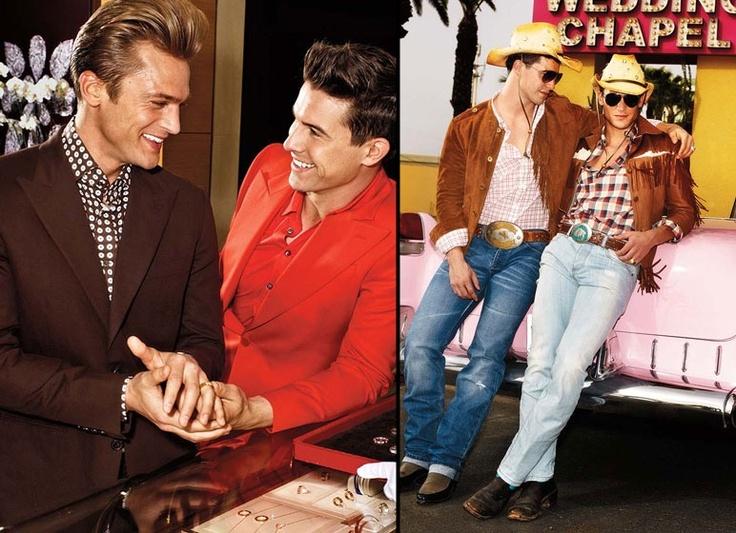 las vegas gay wedding fashion photoshoot - Mariage Las Vegas Validit
