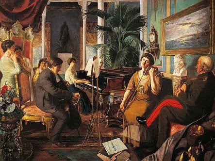 Abdülmecit Efendi'nin Haremde Beethoven adlı eseri (1915)