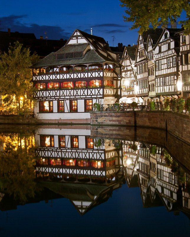 ~La Maison des Tanneurs in Strasbourg, France~ The guide told that this neighbourhood hosted people who had plague.