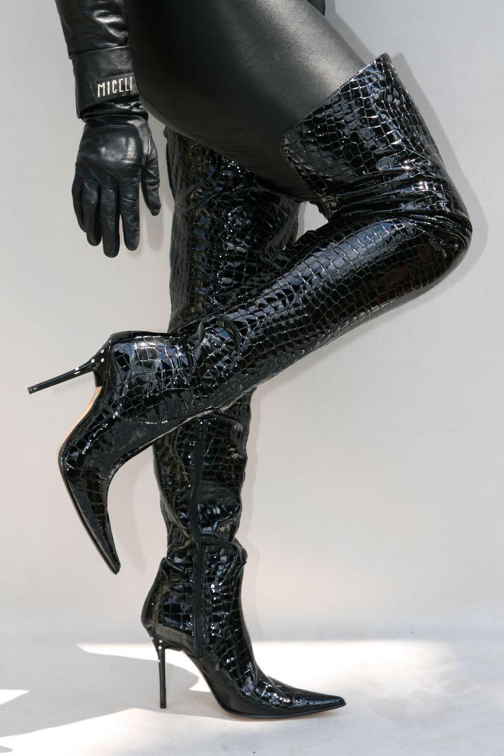 fashion unlimited high heels overknee stiefel pumps. Black Bedroom Furniture Sets. Home Design Ideas
