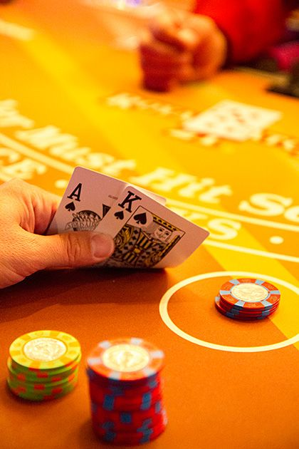 Gambling in Nevada.