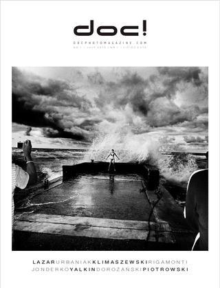 Cover of doc! photo magazine #1. Cover photo: Tomasz Lazar.