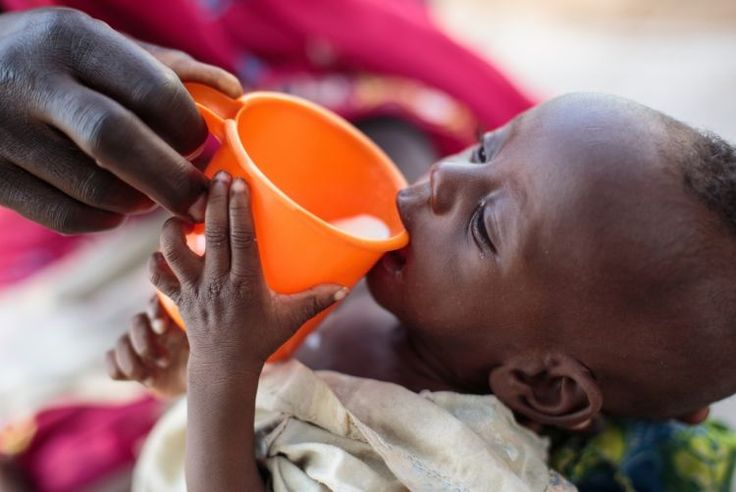 With $22 you can provide 10 children suffering from severe acute malnutrition with therapeutic milk. It is a necessity at emergency feeding centres, refugee camps and hospitals. UNICEF's F100 therapeutic milk contains  vegetable fats, carbohydrates, vitamins and minerals make this milk based drink a life-saver. #SurvivalGifts