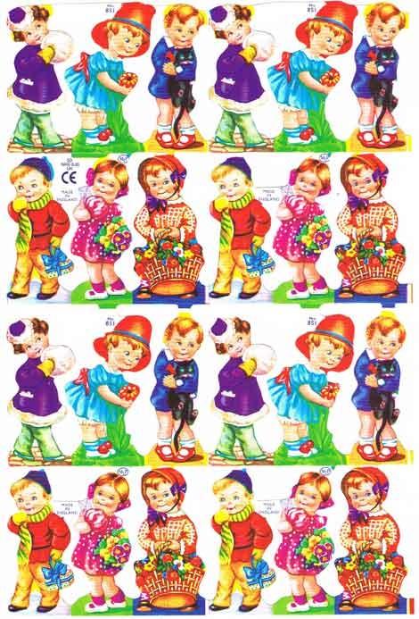 Poëzieplaatje Kindertjes Deze heb ik nog in mijn album staan.