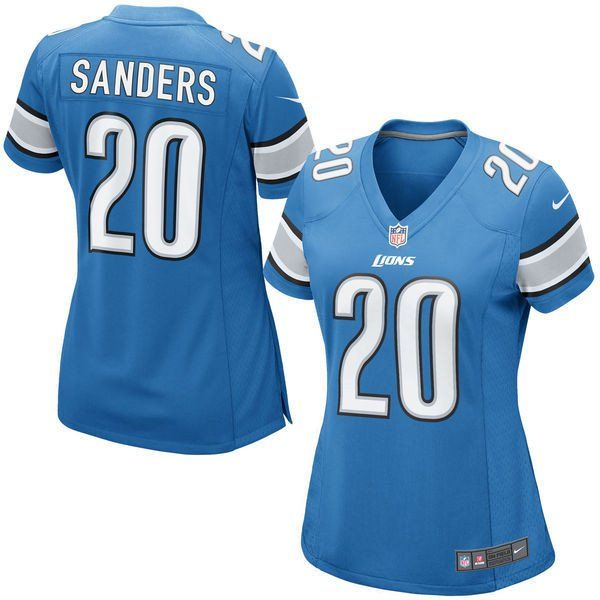 NFL Nike Detroit Lions Womens Barry Sanders Retired Game Jersey