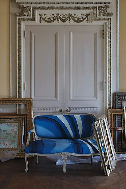 Louisa Settee - Anthropologie.com