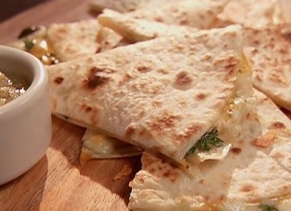 Green Chile quesadillas | Food: Grilled Cheese & Quesadillas | Pinter ...