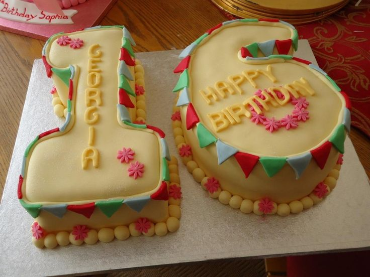 Best 25 16th birthday cakes ideas on Pinterest Sweet 16 cakes