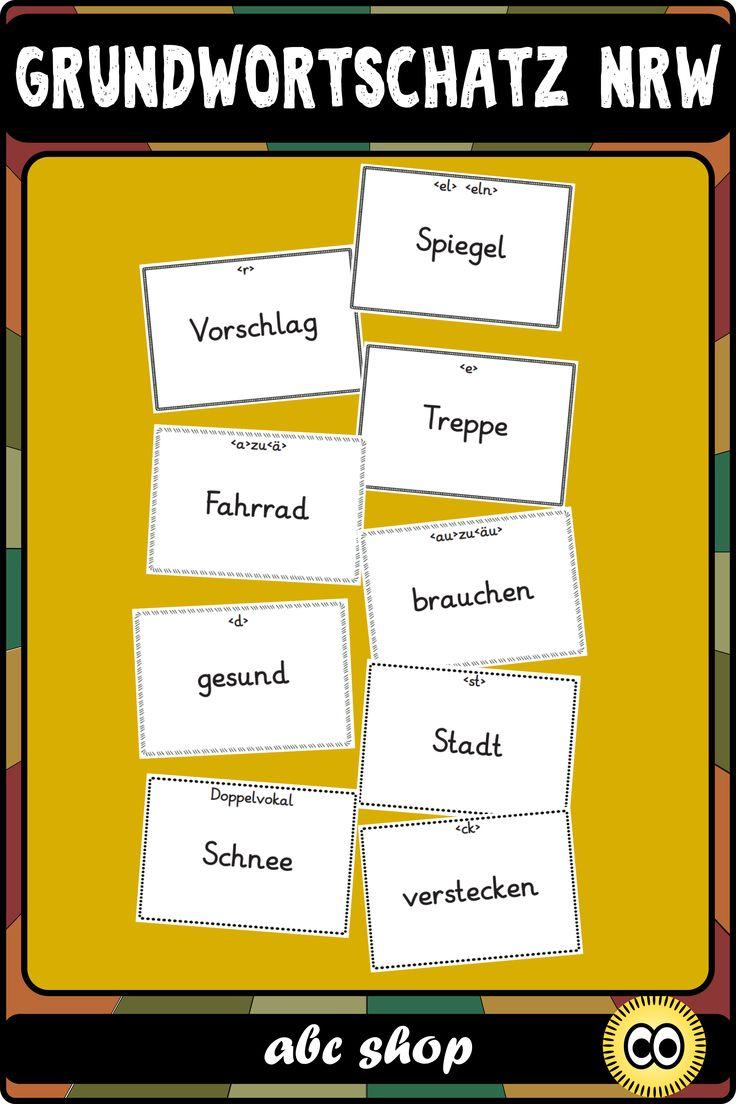 Grundwortschatz Grundschule Nrw