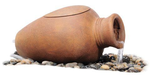 Aquascape Pond Filter Urn by Aquascape. $127.98. Simple to use and maintain. Comes complete with mechanical and biological filter media. Quickly adds the sight and sound of trickling water to ponds without waterfalls or streams. The removable filter lid allows easy access for cleaning and maintenance. Great add-on filtration for any size existing pond. The Aquascape Pond Filter Urn is ideal for smaller ponds, including preformed ponds or container water gardens. Aqu...