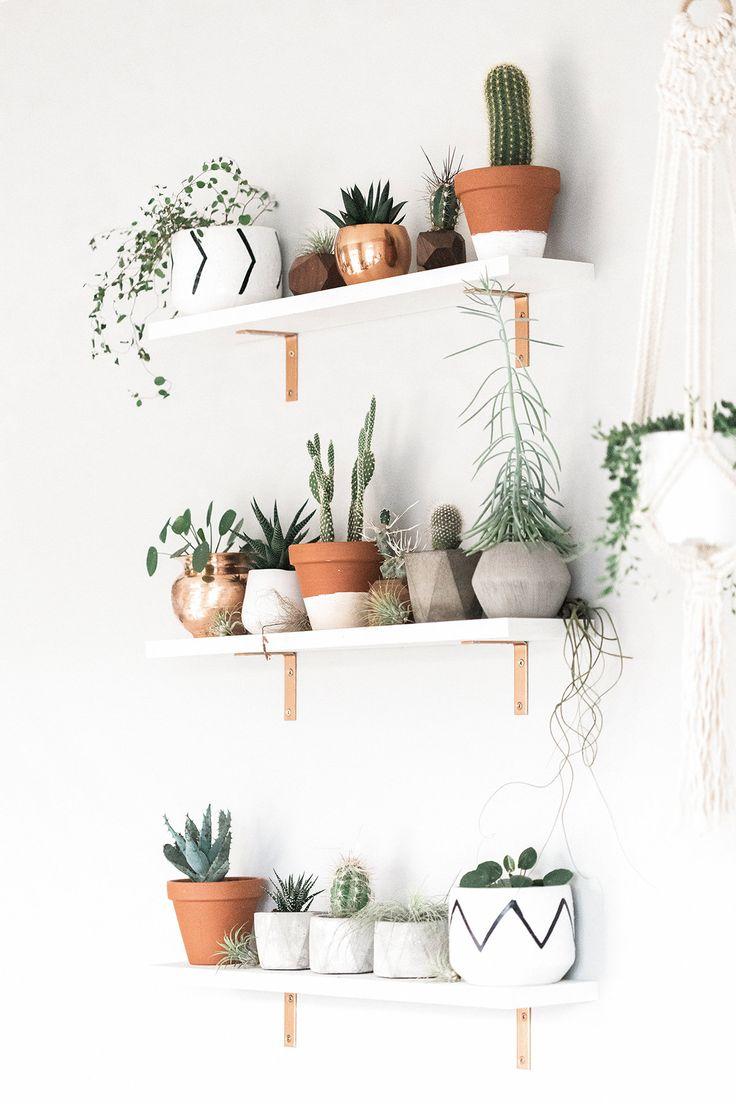Geometric Air Plant / Succulent Pots – Set of 3 – Concrete