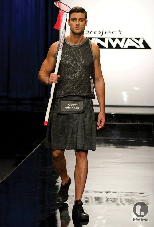 Modern Kilts for Men | ... the judges getting nearly hysterical over the concept of men in kilts