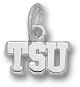 "Tarleton State Texans ""TSU"" 3/16"" Sterling Silver Charm"