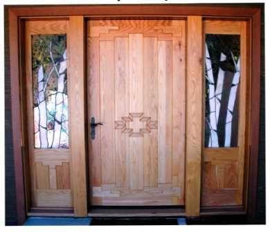 pintu rumah utama minimalis kayu jati sprum-54   kayu jati