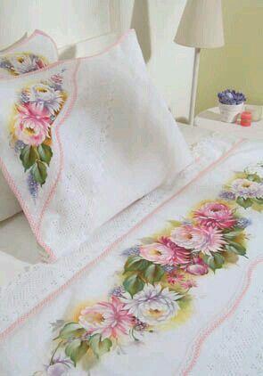 Pintura jogo d cama