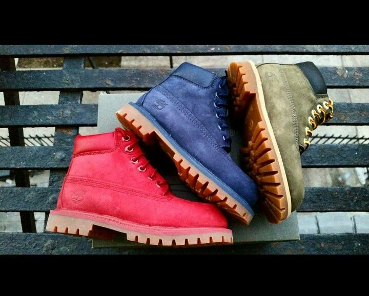 Colorful Toddler Timberland Boots