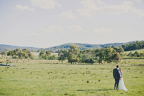 Georgie and Nick's Classic Country Wedding
