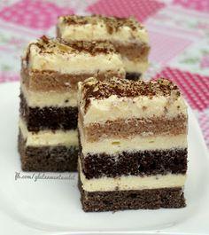 Gluténmentes csíkos süti | Gluténmentes élet