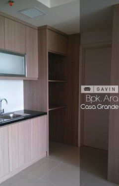 kitchen cabinet minimalis apartment ara-gavin