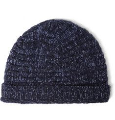 Richard James Two-Tone Wool Beanie