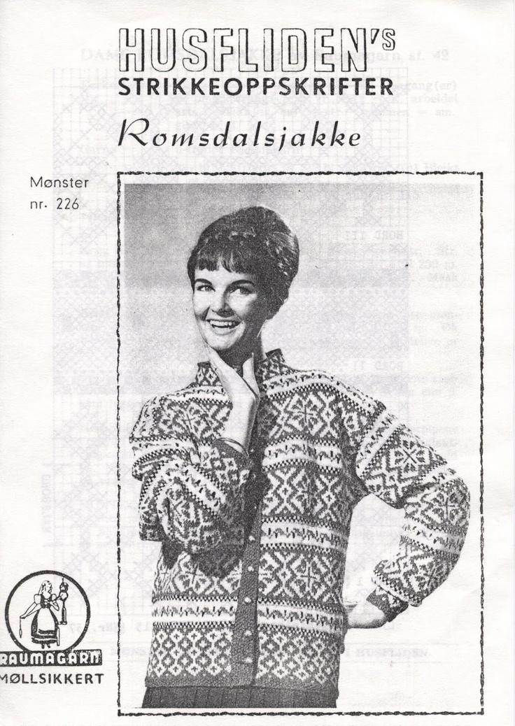 Husfliden Romsdalsjakke 226