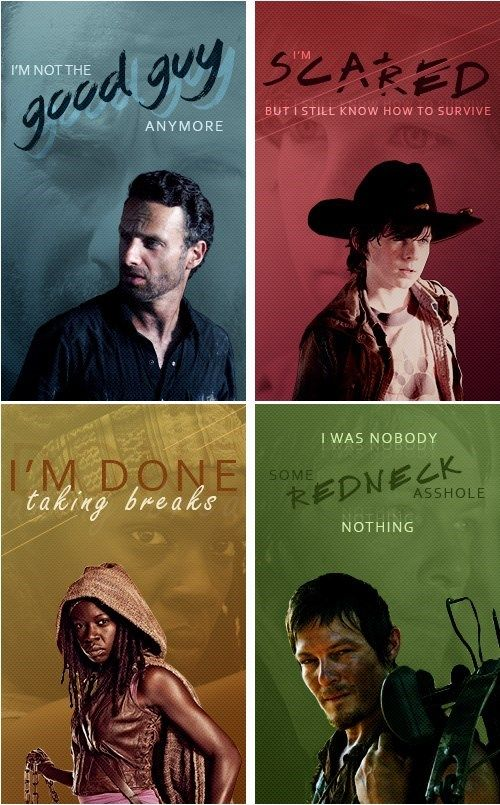The Best Lines of The Walking Dead Season 4