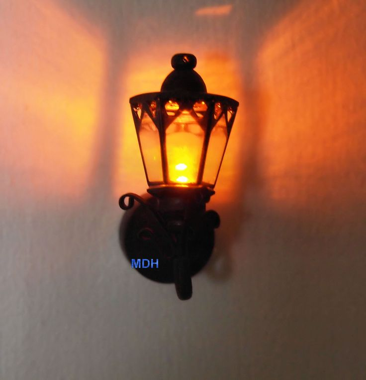 Dollhouse Miniatures Battery Lights: 51 Best DOLLHOUSE LIGHTING Images On Pinterest