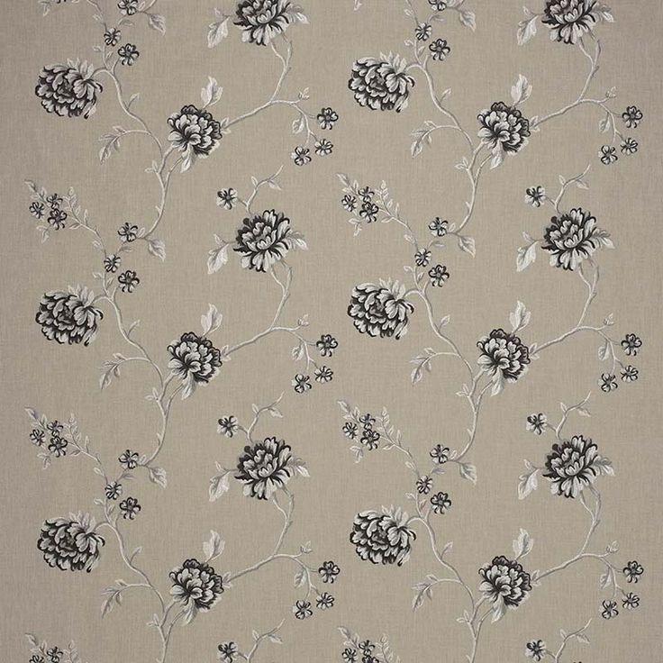 Warwick Fabrics : WINFIELD, Colour CHARCOAL