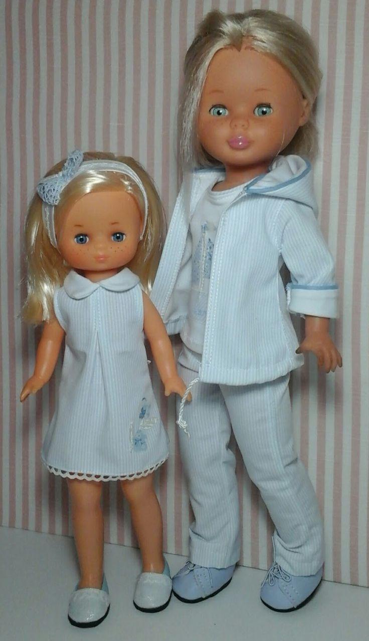"""Vestidos Para Nancy """"El Costurero De Chus"""": Modelo Azul"""