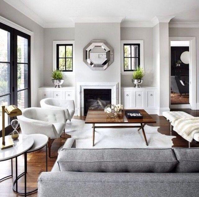 Big Sofas In Small Rooms Dark Wood + Grey Walls. Black Metal Frame Door. Amaze ...