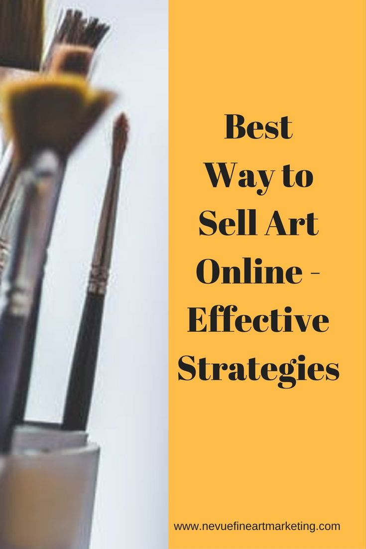 Are you thinking about selling art online but you do not know where to start? In this post, you will discover the best way to sell art online.
