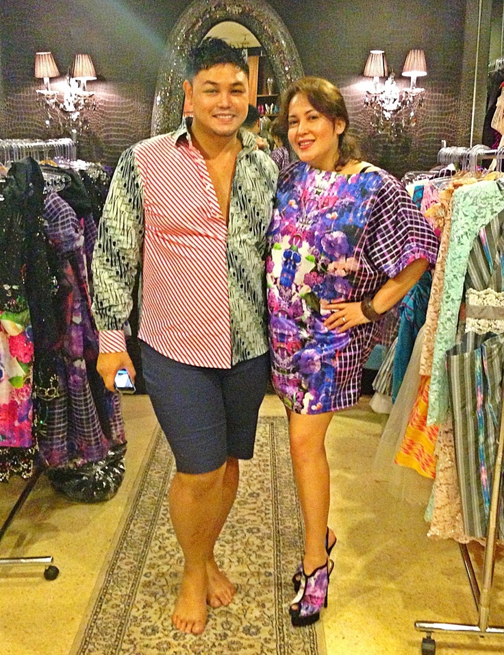 Me and Ivan Gunawan. Wearing Malolo Series By Ivan Gunawan