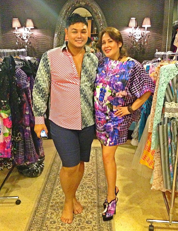 Me and Ivan Gunawan. Wearing Malolo Series By Ivan Gunawan