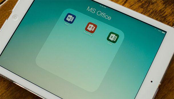 Office for iPad получил обновление: появилась функция печати, улучшена стабильность