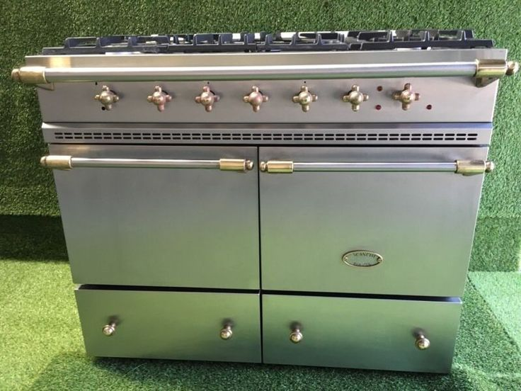 Lovely lacanche range cooker double oven cluny model stainless steel and brass on Gumtree. Lacanche range cooker 100cm width Stainless steel and brass In good used condition and full work