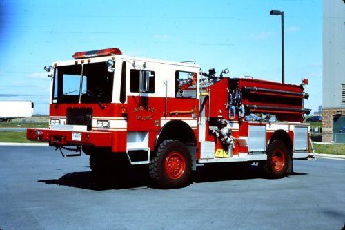 Seagrave Fire Apparatus >> USAF Martinsburg WV E16 - 1990 KME KFT-12 P-24 4x4 Pumper.   ARFF   Pinterest   4x4