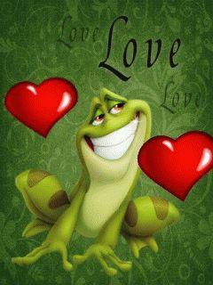 <3 Küss den Frosch <3