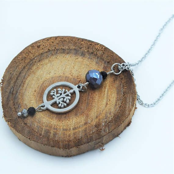 Collier arbre de vie  Tree of life necklace https://www.etsy.com/ca-fr/listing/577974387/collierarbre-de