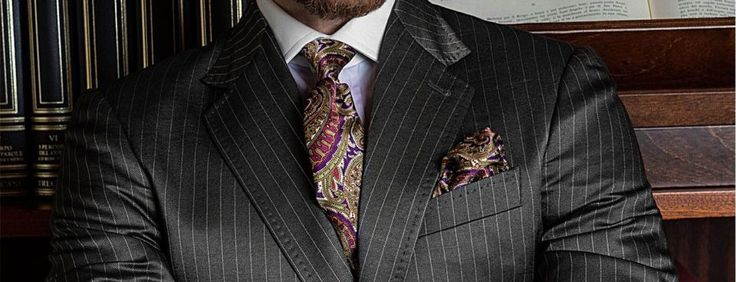Styling Your Pinstripe Suit