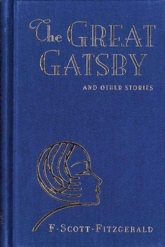 Cover of The Great Gatsby, 1925, by F. Scott Fitzgerald