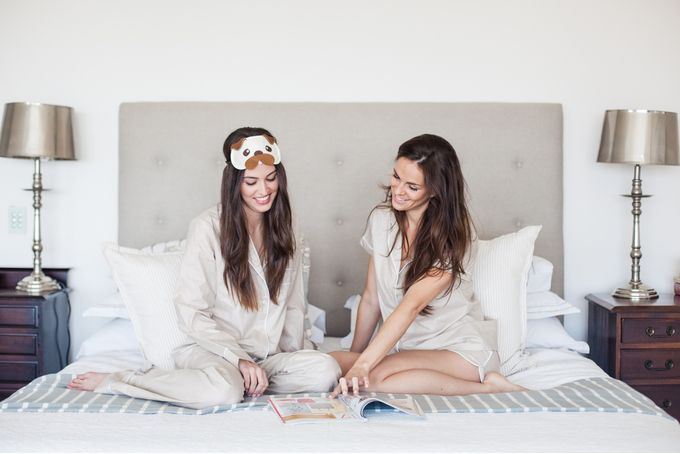 Anna-Louise Stone long Sleepwear set by Anna-Louise Sleepwear on hellopretty.co.za